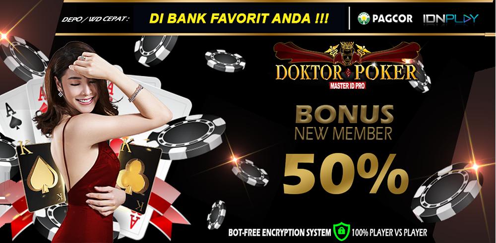 Doktorpoker - Situs Poker Online Terbaik Server IDN Poker